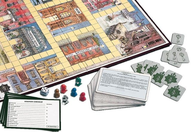 221B Baker St.: Sherlock Holmes & the Time Machine | Board ...